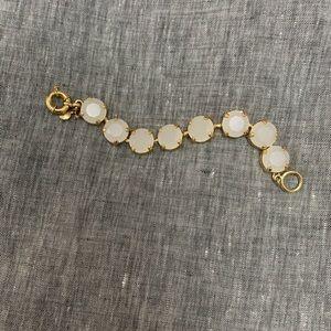 J. Crew gumdrop crystal bracelet